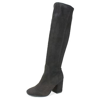 Seven Dials Womens britney Fabric Closed Toe Knee High Fashion Boots