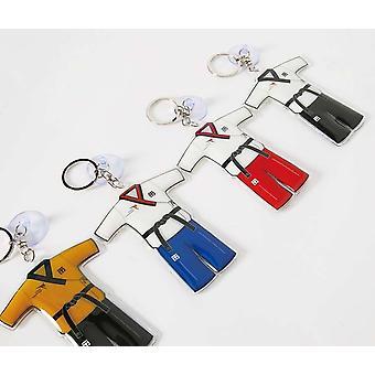 Mooto Taebek Poomsae Uniform Keychain