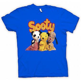 बच्चों टी शर्ट - Sooty और स्वीप बच्चों टीवी प्रेरित - रेट्रो