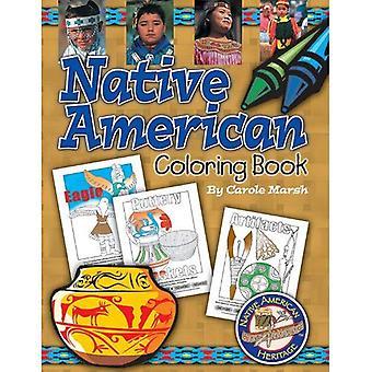 Native American Coloring Book (Native American Heritage)