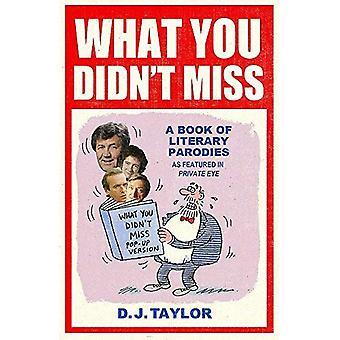 Wat je niet missen: Een boek van literaire parodieën als Featured in Private Eye