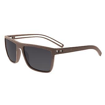 Simplify Dumont Polarized Sunglasses - Beige/Black