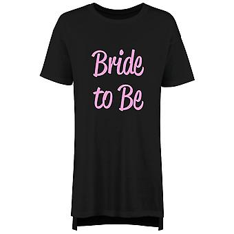 Bride To Be Ladies Nightie Slogan