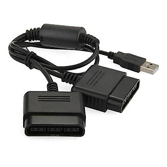 Kabalo PS2 Playstation 2 PS3 PC USB Gamepad Controller convertisseur adaptateur double câble Lead