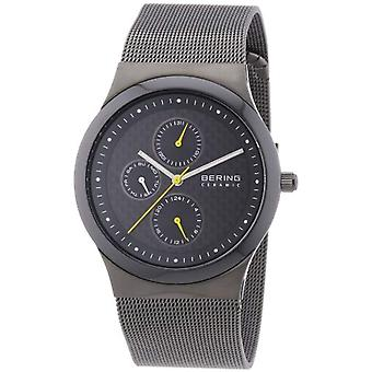 Bering Analog quartz women's watch with stainless steel band 32139-222