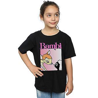 Disney Girls Bambi Nice To Meet You T-Shirt
