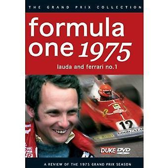 F1 Review 1975 Lauda & Ferrarino. 1 [DVD] USA import