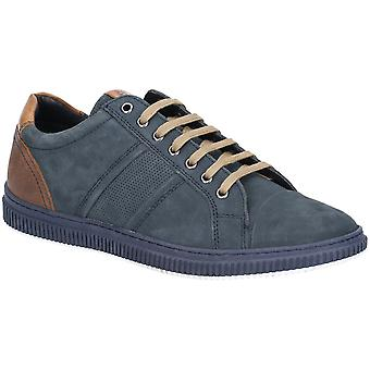 Base London Mens Rubix Softy Lace Up Casual scamosciate