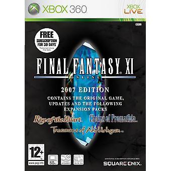 Final Fantasy XI (Xbox 360) - New