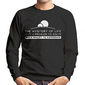 Must Read citaten Dune Frank Herbert mannen Sweatshirt