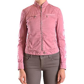 Brema Ezbc146007 Women's Pink Cotton Outerwear Jacket