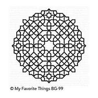 My Favorite Things Moroccan Mosaic Background Stamp (BG-99)