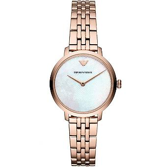 Armani Watches Ar11158 Rose Gold Ladies Watch