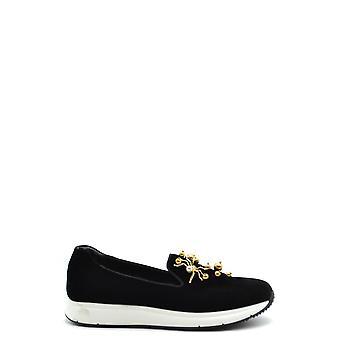 Car Shoe Ezbc029027 Women's Black Suede Sneakers