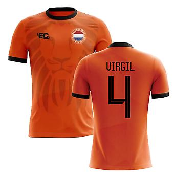 2018-2019 Holland fans cultura Home Concept shirt (VIRGIL 4)