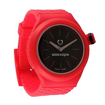 Wize and Ope Club  Red Shuttle Watch SH-CL-3