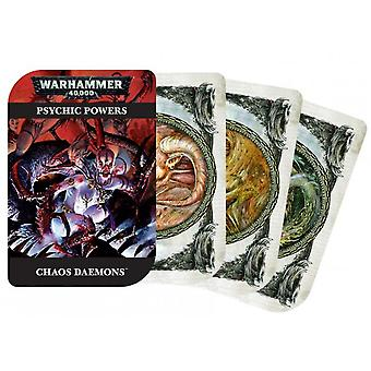 Games Workshop - Warhammer 40,000 - Psychic Powers Chaos Daemons