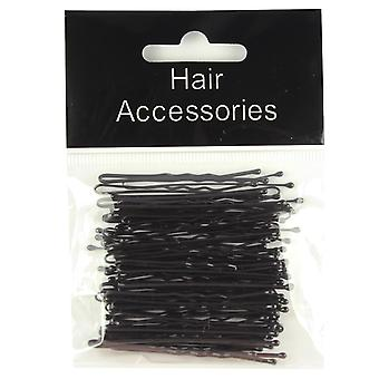 Hair Kirby Grips 45mm 50 Pack Black