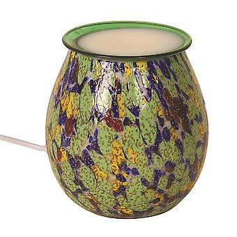Aroma Art Glass 14cm Electric Wax smält brännare brännare