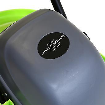 Charles Bentley Elektro Hover Rasenmäher Gras Cutter 1000W 28cm Schneidemesser