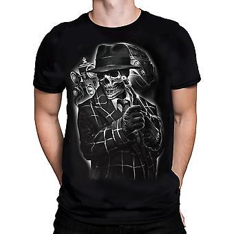 Darkside - gangster - t-shirt - mens black t-shirt