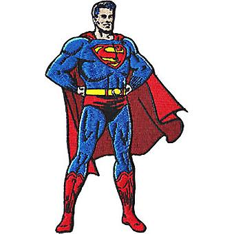 Patch - DC Comic - superman - Classic stand Iron On Gifts Toys New p-dc-0037