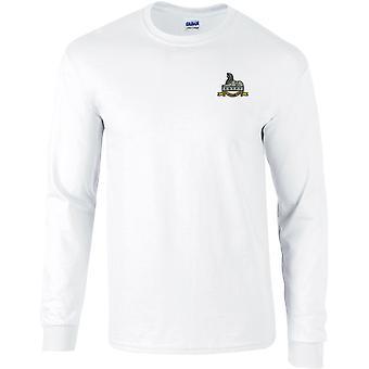 Royal Lincolnshire regiment-licenseret British Army broderet langærmet T-shirt
