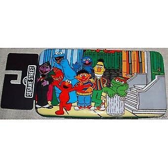 Hinge Wallet - Sesame Street - New Group Elmo Oscar Big Bird gw155731ses