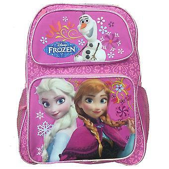 Rygsæk-Disney-frosne prinsesse Elsa + Anna pink taske ny 129691
