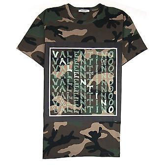Valentino V Für Valentino T-Shirt Camo