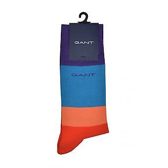 Gant D1. Väri estää sukat veren oranssi