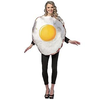 Fried Egg Breakfast Food Funny Women Men Costume