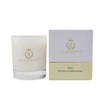 Scented candle, K. Lundqvist-Oud