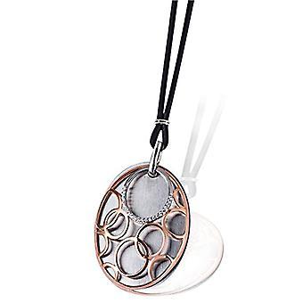 Goldmaid zilveren zilveren ketting geoxideerd briljante Cubic Zirconia 45cm