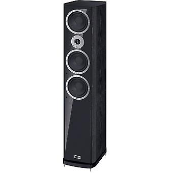 Heco music style 900, Floorstanding speaker, 3 way bass reflex with one-two, color: black, 1 piece new goods
