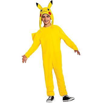 Jungen Pikachu Deluxe Kostüm - Pokemon