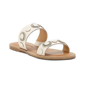 Lucky Brand Womens Adalyn Open Toe Casual Slide Sandals