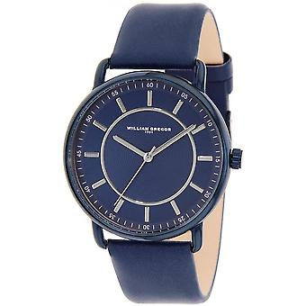 1791 William Gregor BWG10011G-508 - watch leather Blue Man