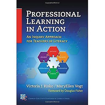 Ammatillinen oppiminen toiminnassa: tutkimuksen lähestymistapa lukutaidon opettajille (Common Core valtion standardeja...