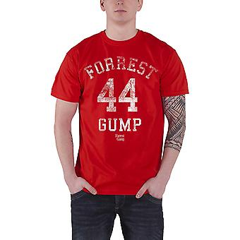 Metsä Gump T-paita elokuva logo ahdistunut 44 uusi virallinen miesten punainen