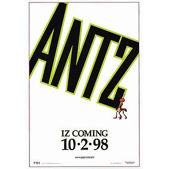 Antz (تقدم من جانب واحد) (1998) ملصق السينما الأصلي