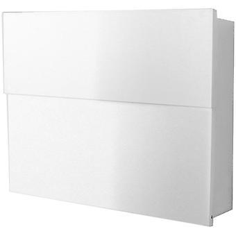 RADIUS-witte brievenbus Letterman XXL 2 562 E incl. krant eten