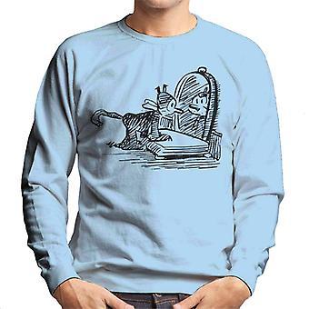 Krazy Kat Mirror Pose Men's Sweatshirt