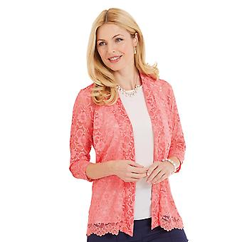 Amber Amber Ladies Lace Cardigan