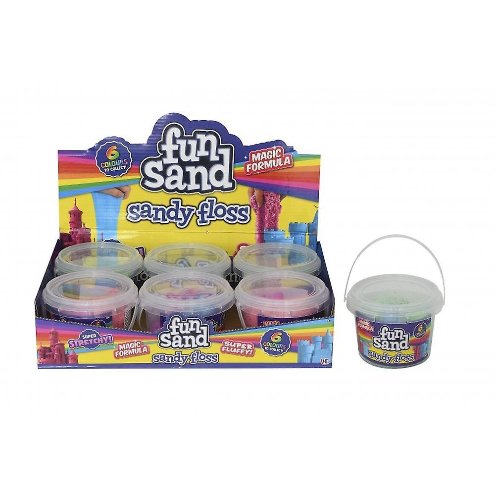 Hti Sandy Floss Mini Bucket 200g -  Modelling Sand -  Floam