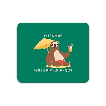 Am I Too Slow? Mouse Mat