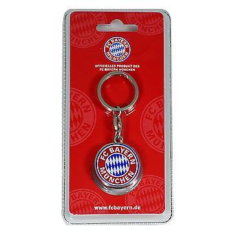 FC Bayern Munich Crest Keyring
