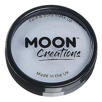 Månen skapelser-Pro face & Body Paint Cake krukor-ljusgrå