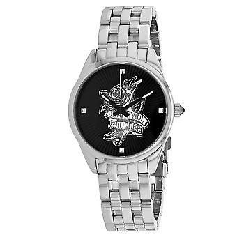 Jean Paul Gaultier Women's Navy Tatoo Black Dial Watch - 8502407