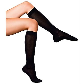 Falke No1 fineste cashmere Knæhøje sokker-sort